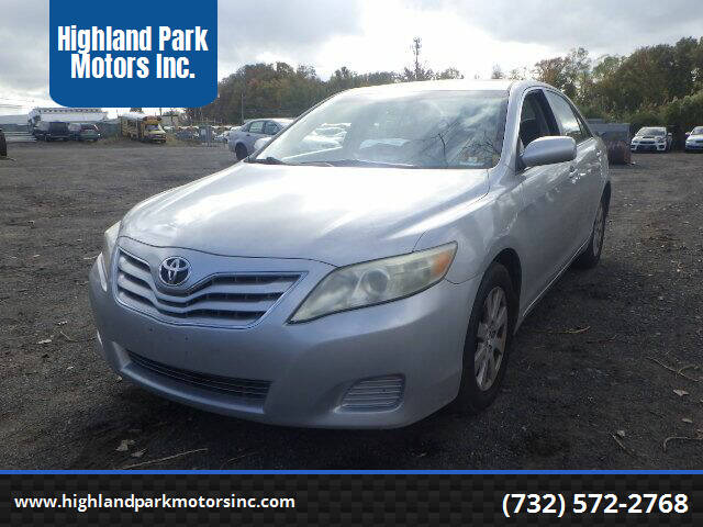 2007 Toyota Camry for sale at Highland Park Motors Inc. in Highland Park NJ