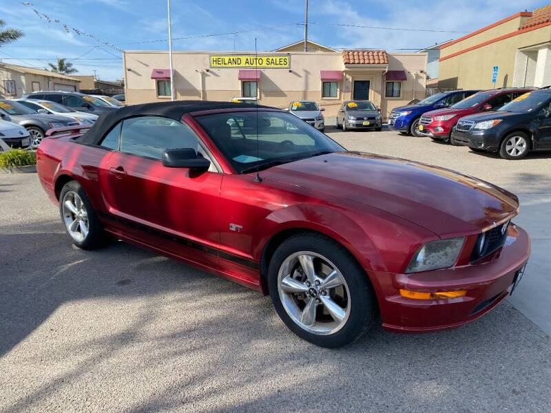 2007 Ford Mustang for sale at HEILAND AUTO SALES in Oceano CA