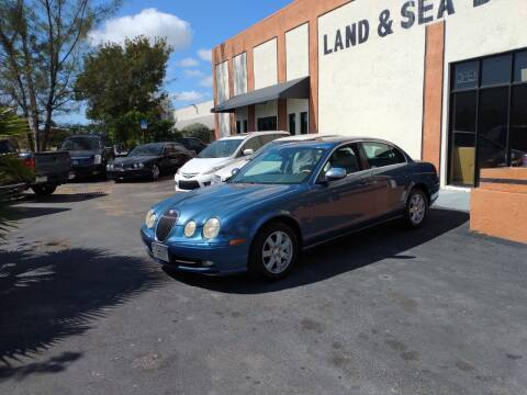 2003 Jaguar S-Type for sale at LAND & SEA BROKERS INC in Deerfield FL