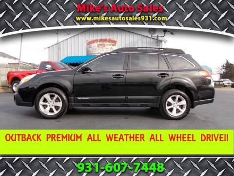 2013 Subaru Outback for sale at Mike's Auto Sales in Shelbyville TN