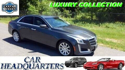2014 Cadillac CTS for sale at CAR  HEADQUARTERS in New Windsor NY
