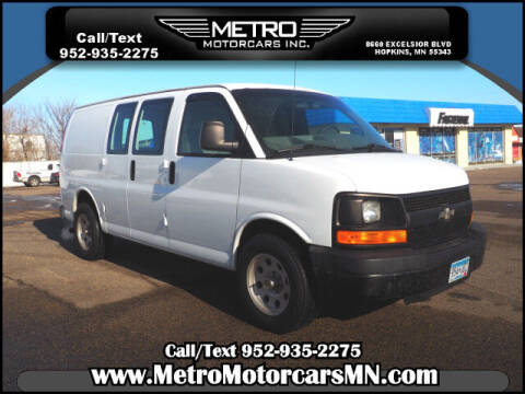 2009 Chevrolet Express Cargo for sale at Metro Motorcars Inc in Hopkins MN