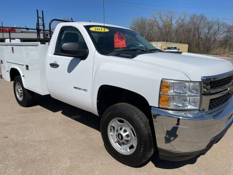 2013 Chevrolet Silverado 2500HD for sale at Foust Fleet Leasing in Topeka KS