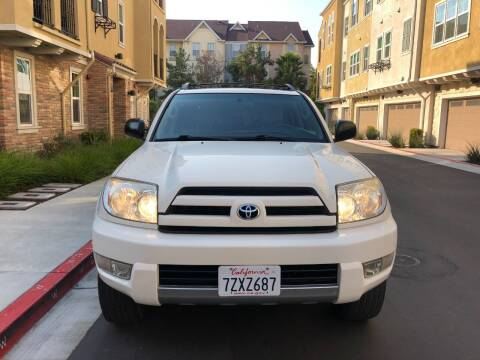 2004 Toyota 4Runner for sale at Hi5 Auto in Fremont CA