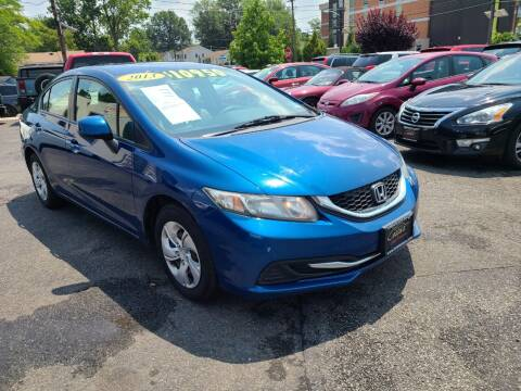 2013 Honda Civic for sale at Costas Auto Gallery in Rahway NJ