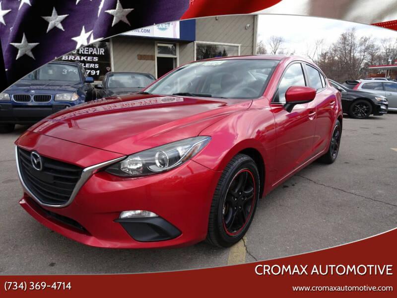 2014 Mazda MAZDA3 for sale at Cromax Automotive in Ann Arbor MI