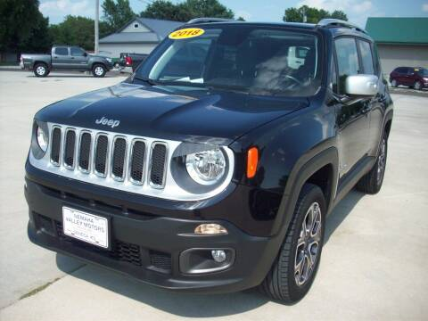2018 Jeep Renegade for sale at Nemaha Valley Motors in Seneca KS