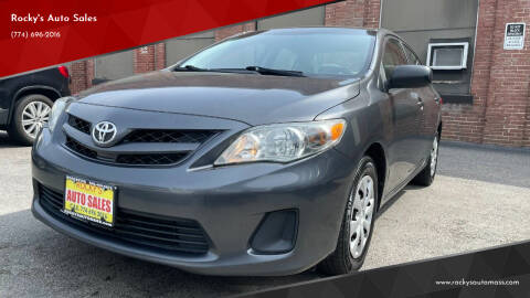 2011 Toyota Corolla for sale at Rocky's Auto Sales in Worcester MA