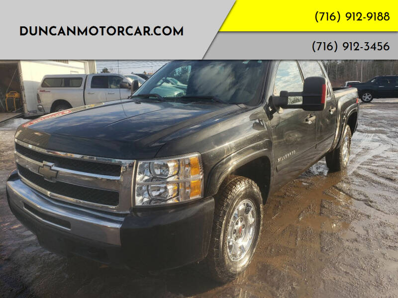2010 Chevrolet Silverado 1500 for sale at DuncanMotorcar.com in Buffalo NY