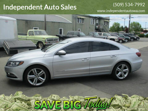 2013 Volkswagen CC for sale at Independent Auto Sales in Spokane Valley WA