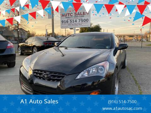 2012 Hyundai Genesis Coupe for sale at A1 Auto Sales in Sacramento CA