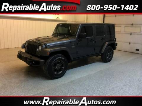 2017 Jeep Wrangler Unlimited for sale at Ken's Auto in Strasburg ND