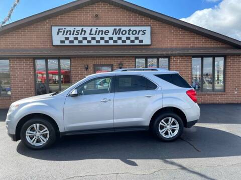2013 Chevrolet Equinox for sale at FINISHLINE MOTORS in Canton OH