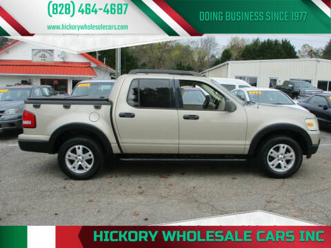 2007 Ford Explorer Sport Trac for sale at Hickory Wholesale Cars Inc in Newton NC