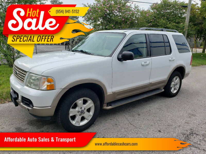 2003 Ford Explorer for sale at Affordable Auto Sales & Transport in Pompano Beach FL