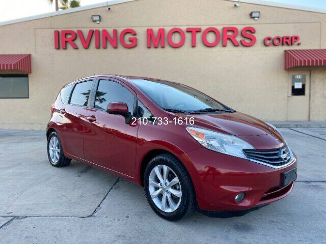 2014 Nissan Versa Note for sale at Irving Motors Corp in San Antonio TX