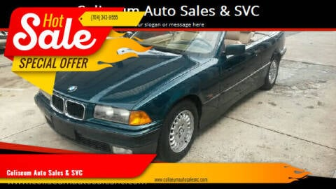 1995 BMW 3 Series for sale at Coliseum Auto Sales & SVC in Charlotte NC