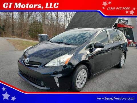 2013 Toyota Prius v for sale at GT Motors, LLC in Elkin NC