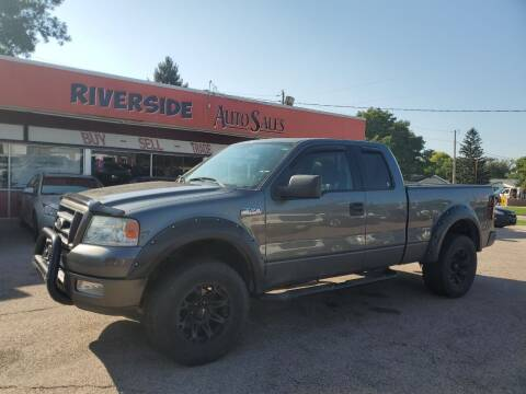 2004 Ford F-150 for sale at RIVERSIDE AUTO SALES in Sioux City IA