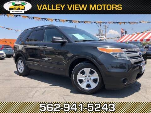 2013 Ford Explorer for sale at Valley View Motors in Whittier CA