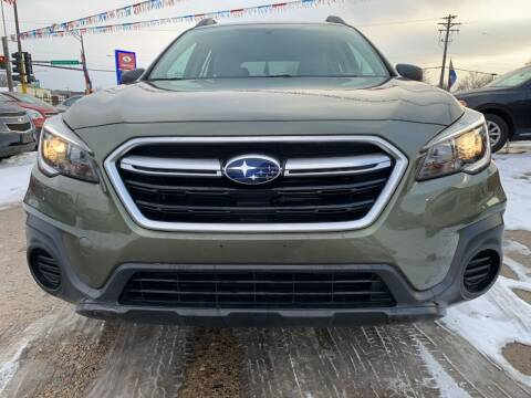 2018 Subaru Outback for sale at Minuteman Auto Sales in Saint Paul MN