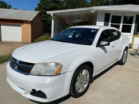2013 Dodge Avenger for sale at Efficiency Auto Buyers in Milton GA