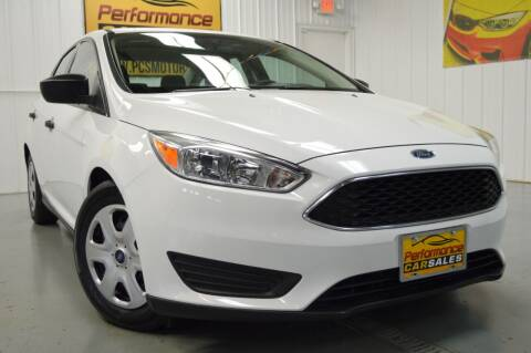 2016 Ford Focus for sale at Performance car sales in Joliet IL