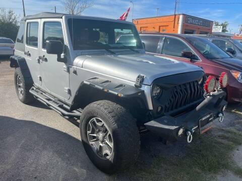 2012 Jeep Wrangler Unlimited for sale at Copa Mundo Auto in Richmond VA