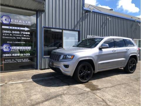 2015 Jeep Grand Cherokee for sale at Chehalis Auto Center in Chehalis WA