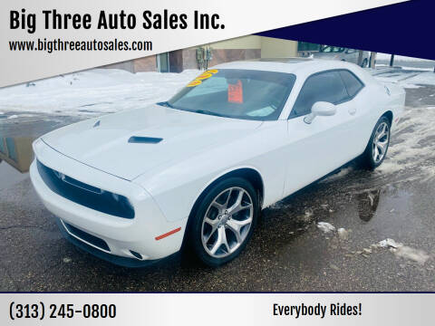 2015 Dodge Challenger for sale at Big Three Auto Sales Inc. in Detroit MI