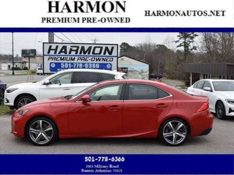 2018 Lexus IS 300 for sale at Harmon Premium Pre-Owned in Benton AR