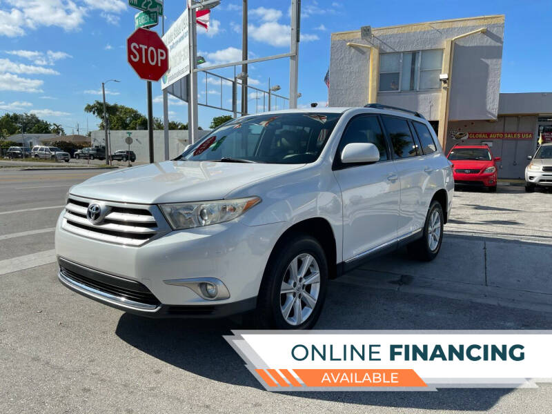 2011 Toyota Highlander for sale at Global Auto Sales USA in Miami FL