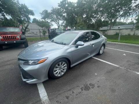 2018 Toyota Camry for sale at Bay City Autosales in Tampa FL