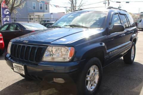 2000 Jeep Grand Cherokee for sale at Grasso's Auto Sales in Providence RI