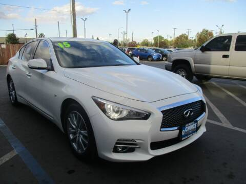 2015 Infiniti Q50 for sale at Choice Auto & Truck in Sacramento CA