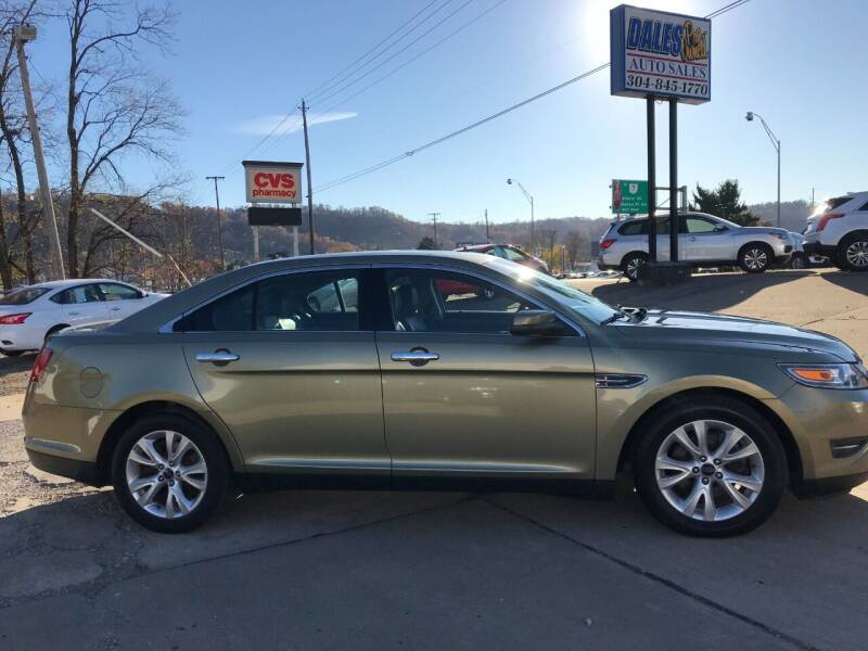 2012 Ford Taurus for sale at DALE'S PREOWNED AUTO SALES INC in Moundsville WV