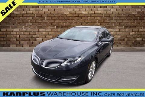 2013 Lincoln MKZ for sale at Karplus Warehouse in Pacoima CA