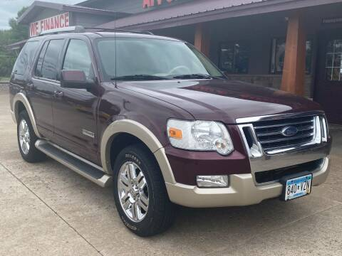 2006 Ford Explorer for sale at Affordable Auto Sales in Cambridge MN