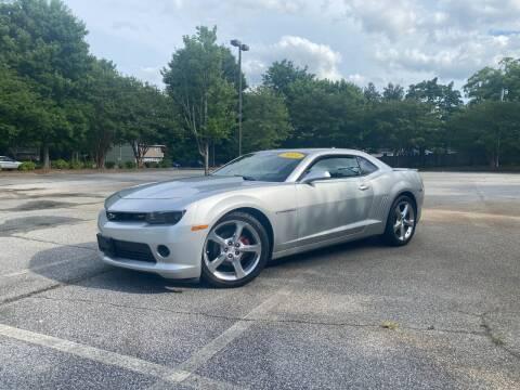 2014 Chevrolet Camaro for sale at Uniworld Auto Sales LLC. in Greensboro NC