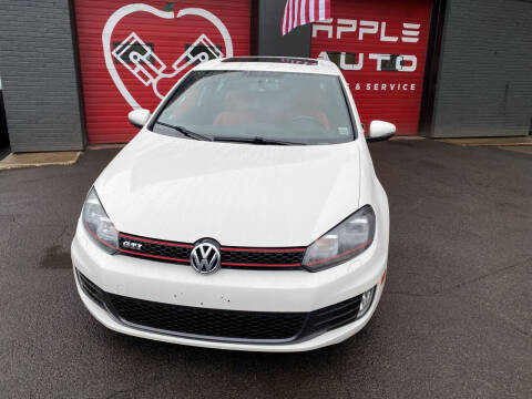 2012 Volkswagen GTI for sale at Apple Auto Sales Inc in Camillus NY