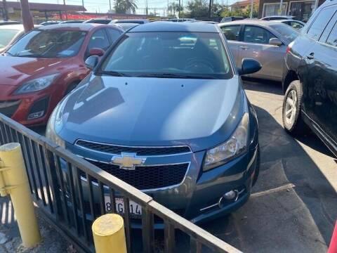 2012 Chevrolet Cruze for sale at Affordable Auto Inc. in Pico Rivera CA