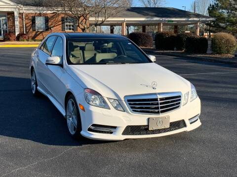 2013 Mercedes-Benz E-Class for sale at SMZ Auto Import in Roswell GA