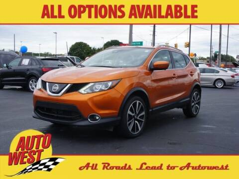 2019 Nissan Rogue Sport for sale at Autowest of Plainwell in Plainwell MI