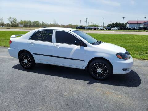 2005 Toyota Corolla for sale at Caps Cars Of Taylorville in Taylorville IL