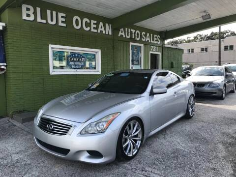 2008 Infiniti G37 for sale at Blue Ocean Auto Sales LLC in Tampa FL