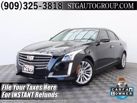2018 Cadillac CTS for sale at STG Auto Group in Montclair CA