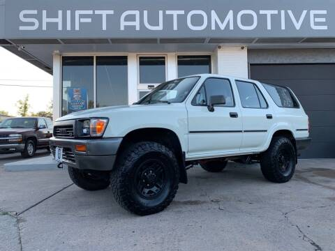 1990 Toyota 4Runner for sale at Shift Automotive in Denver CO