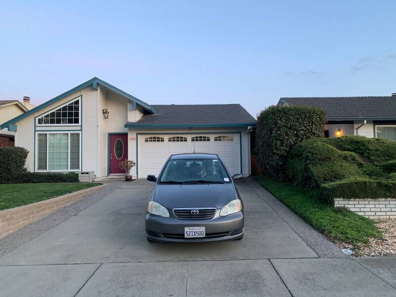 2007 Toyota Corolla for sale at Blue Eagle Motors in Fremont CA