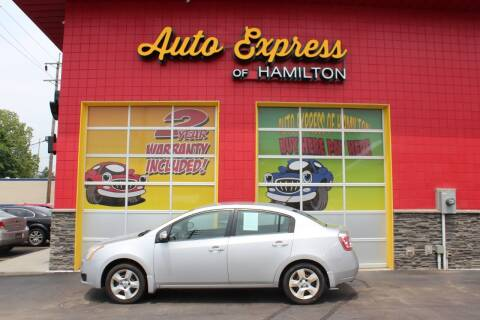 2007 Nissan Sentra for sale at AUTO EXPRESS OF HAMILTON LLC in Hamilton OH