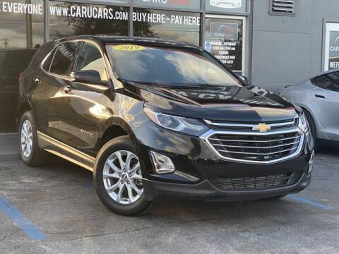 2019 Chevrolet Equinox for sale at CARUCARS LLC in Miami FL